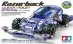 mini 4wd razorback clear violet